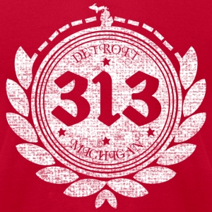 A Detroit Logo T-Shirts - Men's T-Shirt by American Apparel