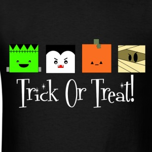 Trick or Treat Monsters - Men's T-Shirt