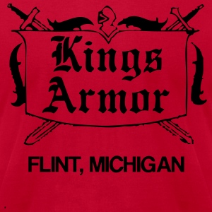 Kings Armor T-Shirts - Men's T-Shirt by American Apparel