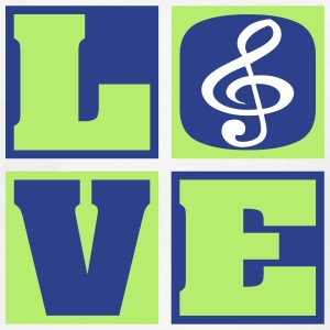 Love Music! (Kids') - Kids' T-Shirt