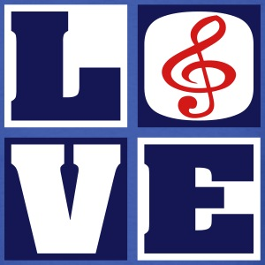 Love Music! (Men's) - Men's T-Shirt
