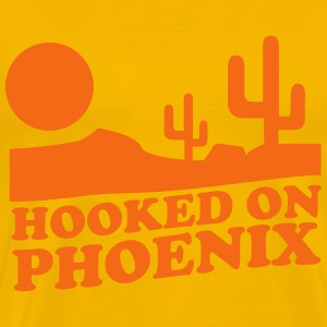 Hooked on Phoenix T-Shirts - Men's Premium T-Shirt