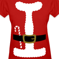 Design ~ SANTA CLAUS SUIT - Women's T-Shirt