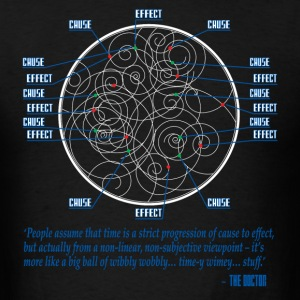 Dr Who Time Theory  T-Shirts - Men's T-Shirt