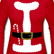 Design ~ SANTA CLAUS SUIT - Women's Long-Sleeve