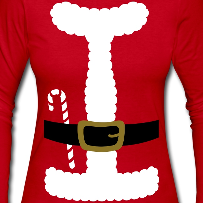 SANTA CLAUS SUIT - Women's Long-Sleeve