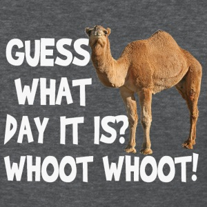 Hump Day Camel Guess What Day It Is T-shirt - Women's T-Shirt
