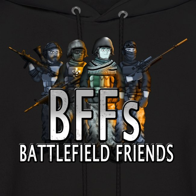 Battlefield Friends Men's Hoodie