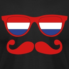 german moustache glasses nerd T-Shirts