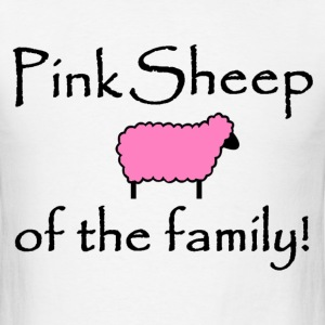 Pink Sheep - Men's T-Shirt