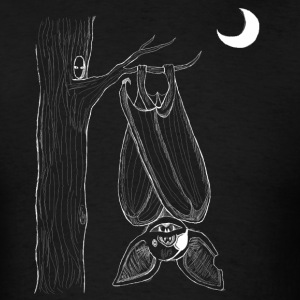 Bat + Tree - Men's T-Shirt
