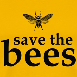 Save the Bees T-Shirts - Men's Premium T-Shirt