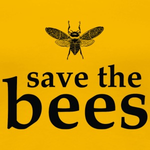 Save the Bees Women's T-Shirts - Women's Premium T-Shirt