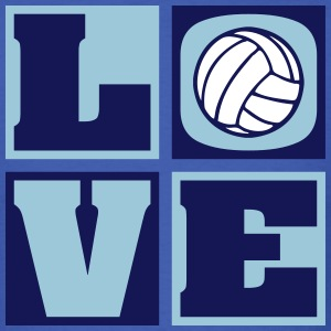 Love Volleyball! (Men's) - Men's T-Shirt