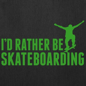 I'd rather be skateboarding Bags & backpacks - Tote Bag
