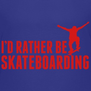 I'd rather be skateboarding Kids' Shirts - Kids' Premium T-Shirt