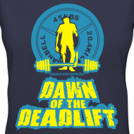 Design ~ Dawn of The Deadlift V-Neck