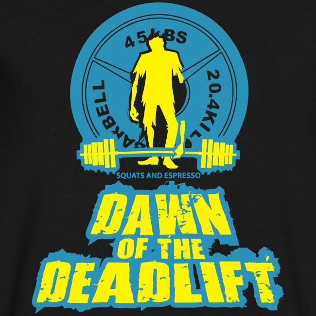 Dawn of The Deadlift V-Neck