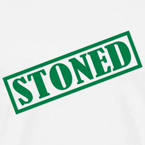 Stoned Marijuana T-Shirts - Men's Premium T-Shirt