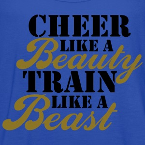 Cheer Beauty Beast Tanks - Women's Flowy Tank Top by Bella