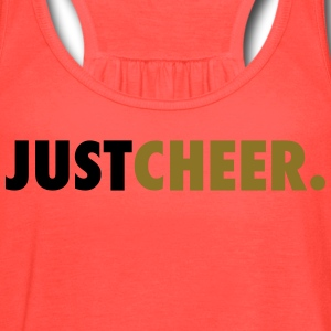 Just Cheer Tanks - Women's Flowy Tank Top by Bella