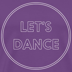 Let's Dance T-Shirts - Men's Premium T-Shirt