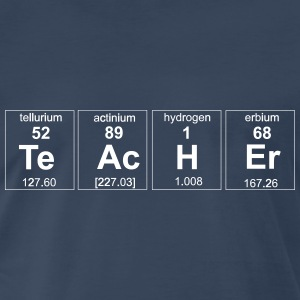 Periodic Table Teacher Elements T-Shirts - Men's Premium T-Shirt