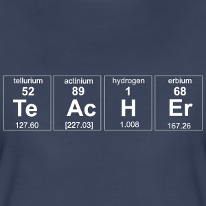 Periodic Table Teacher Elements Women's T-Shirts - Women's Premium T-Shirt