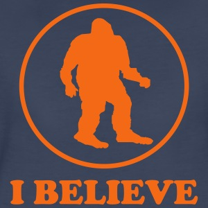 I believe. Bigfoot Women's T-Shirts - Women's Premium T-Shirt