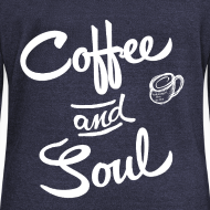 Design ~ Coffee & Soul dark sweatshirt