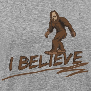 I believe in bigfoot T-Shirts - Men's Premium T-Shirt