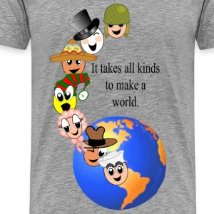 makeaworld T-Shirts - Men's Premium T-Shirt
