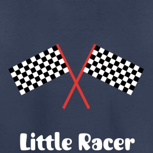black and white tile race flags for racers Kids' Shirts - Kids' Premium T-Shirt