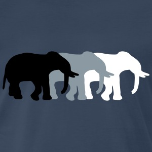 3 Elephants T-Shirts - Men's Premium T-Shirt