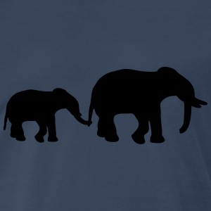 Elephant Mother T-Shirts - Men's Premium T-Shirt