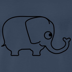 Cute Elephant T-Shirts - Men's Premium T-Shirt