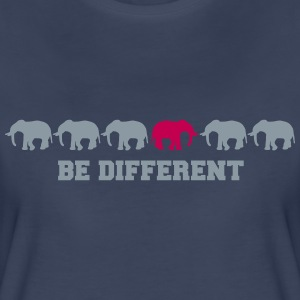 Elephants Be Different Women's T-Shirts - Women's Premium T-Shirt