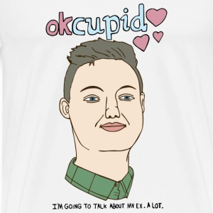 OkCupid  T-Shirts - Men's Premium T-Shirt