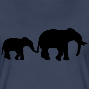Elephant Mother Women's T-Shirts - Women's Premium T-Shirt