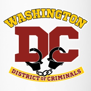 Washington DC - the District of Criminals Bottles & Mugs - Travel Mug