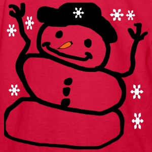 mr_snowman3 Kids' Shirts - Kids' Long Sleeve T-Shirt