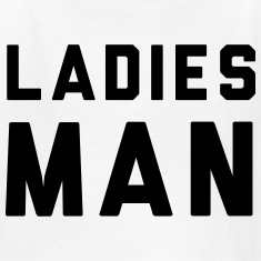 Ladies Man Kids' Shirts