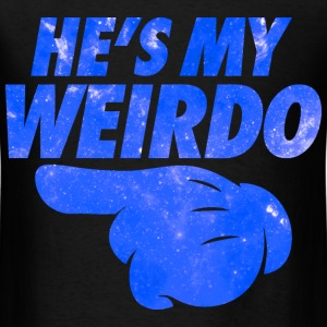 He's My Weirdo Galaxy T-Shirts - Men's T-Shirt