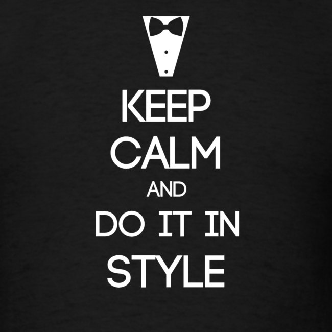 ESFJ ~ Keep Calm and Do It In Style T-shirt