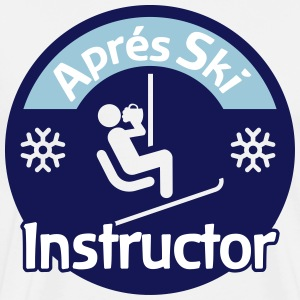 Aprés Ski Instructor T-Shirts - Men's Premium T-Shirt