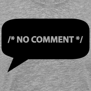 No comment */ T-Shirts - Men's Premium T-Shirt