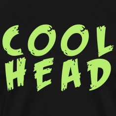 Cool Head Light Green And Black T-Shirts