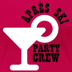Apres ski party crew Women's T-Shirts