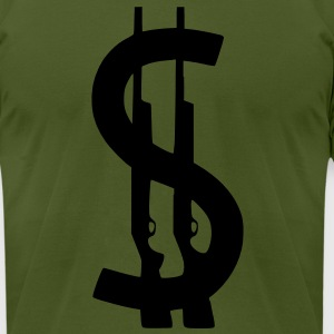 SHOTTY - Men's T-Shirt by American Apparel