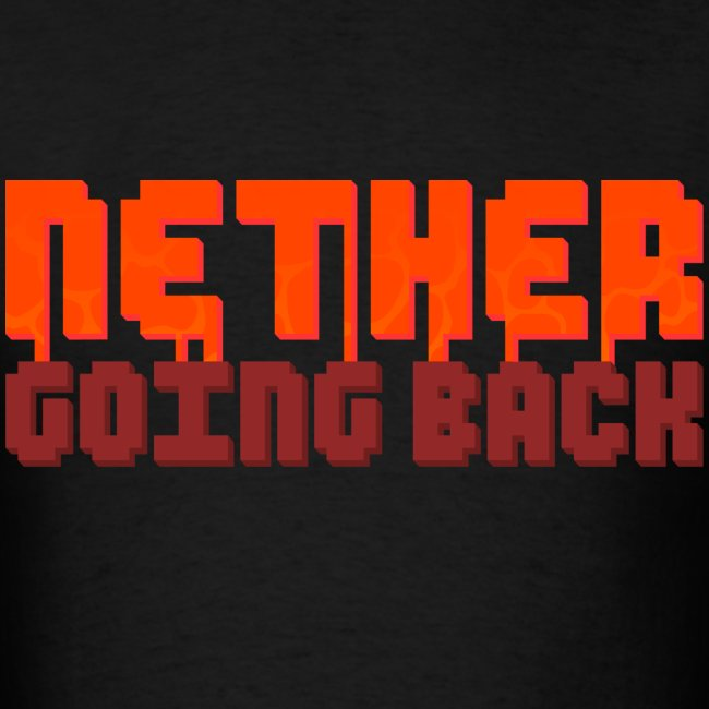 Men's Nether Going Back T-Shirt
